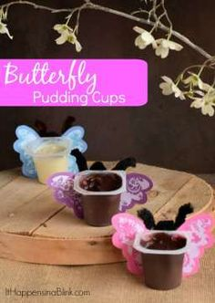 Butterfly Pudding Cu
