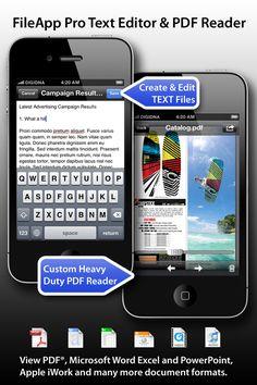 Dateien und Dokumenten-Manager für iPad und iPhone heute Free