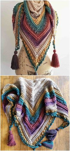 Secret Paths – Craft Ideas Crochet Shawls And Wraps, Crochet Scarves, Free Crochet, Knit Crochet, Indian Feathers, Quilts Online, Resin Uses, Unique Flooring, Crochet Patterns