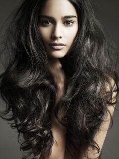 Gorgeous black hair
