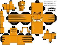 Design'mado: Paper Toys - Garfield