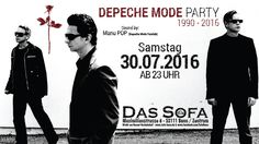 ►▲▲ Depeche Mode Party ►▲▲ - https://www.facebook.com/events/1611729559147077/ - #dassofa #sofabonn #bonn #depechemode #depechemodeparty #depechemodefanclub #manupop #synthiepop #ebm #futurepop #partybonn #bonnparty