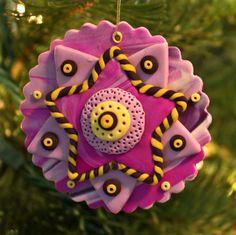 polymer clay ornaments!