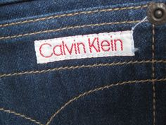 Calvin Klein Jeans - must have of the early 80's