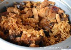 Rice cooker Claypot Chicken Rice