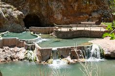Pah Tempe Hotsprings (Hurricane Utah).    My husband had fond memories of this place but didn't know where it was.  On our recent trip to Hurricane we discovered it again.  You reserve the hot springs for private parties, making it that much cooler of an experience!