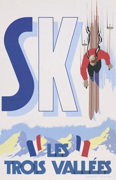 Sport poster art vintage ski 18 new ideas Ski Vintage, Vintage Ski Posters, Poster Art, Art Deco Posters, Retro Illustration, Illustrations, Sports Wallpapers, Fauna, Skiing