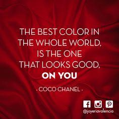 #color #quote #designerquote #cocochanel #joyeriavalencia #sanmarino