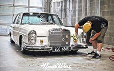 NWAS Lynnwood auto detail vintage Mercedes 250 S