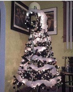 black christmas tree Merry Christmas Nightmare Before Christmas