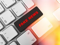 Fake news - fotku můžete zakoupit na www.ilustracnifotky.cz