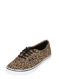 """vans leopard SNEAKERS """"AUTHENTIC LO PRO"""""""