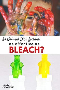 Want to avoid sanitizing with bleach? Here's a perfectly natural alternative that even the EPA says works just as well. Learn more about natural alternatives to bleach that are EPA approved for Childcare facilities. Homemade Cleaning Products, Natural Cleaning Products, Household Products, Household Cleaners, Healthy Kids, How To Stay Healthy, Bleach Alternative, Alternative Health, Natural Bleach