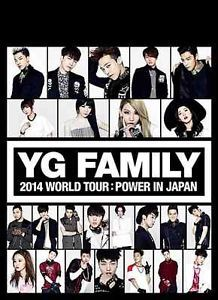 YG FAMILY WORLD TOUR 2014 POWER in Japan 3 DVD BIGBANG 2NE1 WINNER K-POP NEW FS  $169.80