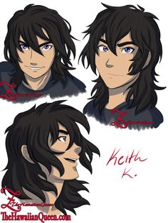 If Keith never trims his hair... I'll donate a scrunchie so he can keep it out of his have