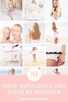 Você gosta de feed organizado, com aquele theme lindo? Aqui tem 10 perfis inspiradores para você seguir no instagram!