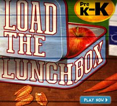 Load the Lunchbox Game- Created by the American Farm Bureau Foundation For Agriculture!