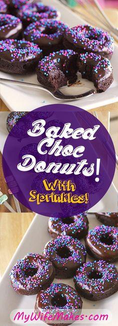 Mini Vegan Chocolate Donuts