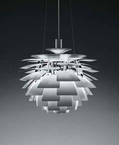 Poul Henningsen  lamp design