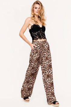 Loavies leopard broek   Fashion Webshop LOAVIES