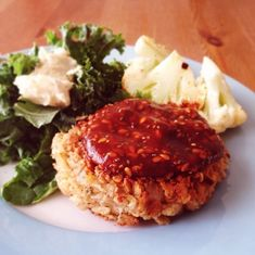 Diet Recipes, Vegetarian Recipes, Healthy Recipes, Sweet Life, Salmon Burgers, Mashed Potatoes, Oatmeal, Vegan, Meals