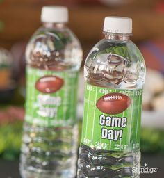 Celebrate game day with personalized football party supplies!