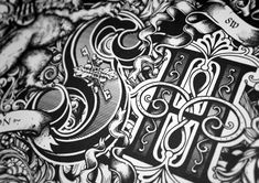 Greg Coulton es un diseñador gráfico nacido en Inglaterra, quien desde los 12 años de edad encontró su pasión entre los trazos. Su fuerte son las tipografías, aunque sus diseños de figuras son espe...