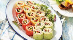 Sushis de tortillas aux saveurs méditerranéennes