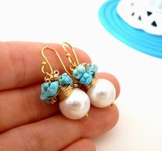 FREE shipping  The Carrice  charming earrings with by ...