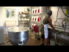 Northland Sheep Dairy - Cheese Making.mov #goatvet says some hints in here for goat cheese makers as well
