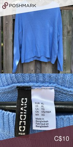 H&M Pullover Comfy, warm H&M wool pullover! Plus Fashion, Fashion Tips, Fashion Trends, Larger, Feels, Sweaters For Women, Stains, Comfy, Pullover