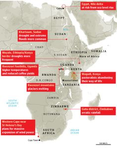 From Cairo to the Cape, climate change begins to take hold of Africa | John Vidal