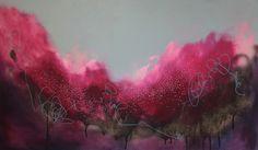 "Saatchi Online Artist: Georgina Vinsun; Mixed Media, 2012, Painting ""Steph"""