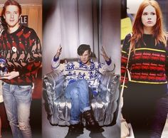 dr who cast + christmas sweaters = awesomeness (boom) Doctor Who Cast, Uk Tv Shows, Doctor Who Tumblr, Tardis Blue, Hello Sweetie, Matt Smith, Time Lords, David Tennant, Dr Who