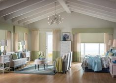 Budget Blinds Horizontal/Vertical Cellular Shades  - Budget Blinds of Edgewater, New Jersey