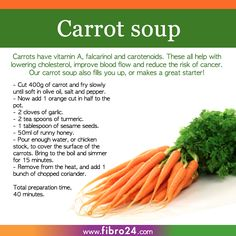 We created a bunch of recipes that could help folks with fibromyalgia. Try our carrot soup for fantastic healthy results and as a great party starter. Soup Recipes, Diet Recipes, Healthy Recipes, Healthy Food, Recipies, Rainbow Food, Veggie Tales, Carrot Soup, Fibromyalgia