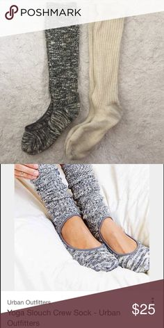 Yoga Slouch Socks Worn the cream ones once Urban Outfitters Other