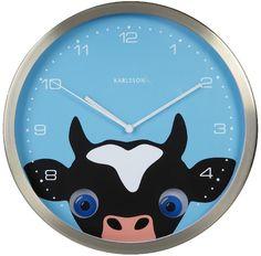 Wall Clock Cow Peekaboo    Ceas de perete Vaca Peekaboo Cow, Wall, Design, Home Decor, Decoration Home, Room Decor, Interior Decorating