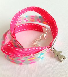 Children Wrap Bracelet with Little Girl Charm - Chocolatine Boutique
