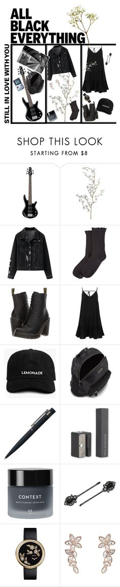 """""""still in love with you"""" by realshannon ❤ liked on Polyvore featuring Pavilion Broadway, HUE, Dr. Martens, River Island, John Lewis, Moleskine, Context, 1928, Chanel and Monsoon"""