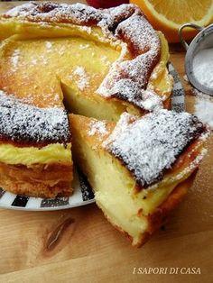 Ecco la torta souffle all'arancia senza burro e olio è una di queste. Questa torta della consistenza cremosa e delicata me la preparava ♦๏~✿✿✿~☼๏♥๏花✨✿写☆☀🌸🌿🎄🎄🎄❁~⊱✿ღ~❥༺♡༻🌺TU Dec ♥⛩⚘☮️ ❋ Sweet Recipes, Cake Recipes, Dessert Recipes, Super Torte, Torte Cake, Italian Desserts, Food Cakes, Sweet Cakes, Sweet Bread