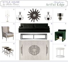 Style House by Atelier Turner is our canvas of designer furniture selections for those you love stylish living. Looking for some high-style design for your place? Contact us at www.atelierturner.com