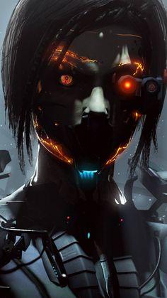 Biomech iPhone Wallpaper 8 - Best of Wallpapers for Andriod and ios Cyberpunk 2077, Cyberpunk Girl, Arte Cyberpunk, Cyberpunk Aesthetic, Nono Le Petit Robot, Arte Robot, Futuristic Art, Ex Machina, Wow Art
