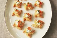 Christmas finger food doesn't get much easier than these puff pastry stars.