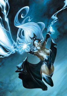 Storm by Anthony Jean Marvel X men Ms Marvel, Storm Marvel, Marvel Women, Marvel Girls, Marvel Heroes, Storm Xmen, Comic Book Characters, Comic Book Heroes, Marvel Characters