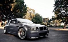 BMW E46 M3 grey | BMW M series | BMW | Bimmer | BMW USA | Dream Car | car photography | sheer driving pleasure | Schomp BMW