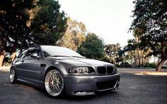 BMW E46 M3 grey | BMW M series | BMW | Bimmer | BMW USA | Dream Car | car photography | sheer driving pleasure | Schomp BMW