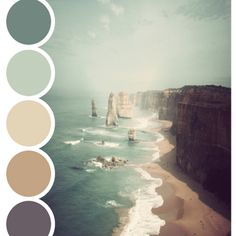 BEACH PALETTE - color palette | P▲STEL FEATHER STUDIO