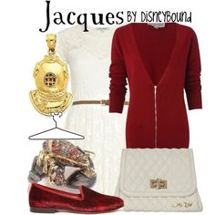 Jacques, created by lalakay on Polyvore disney
