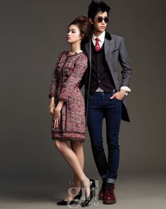 korean vogue couple